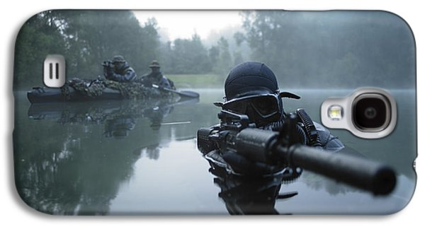 Image Photographs Galaxy S4 Cases - Special Operations Forces Combat Diver Galaxy S4 Case by Tom Weber
