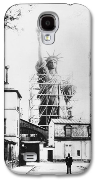 Granger - Galaxy S4 Cases - Statue Of Liberty, Paris Galaxy S4 Case by Granger
