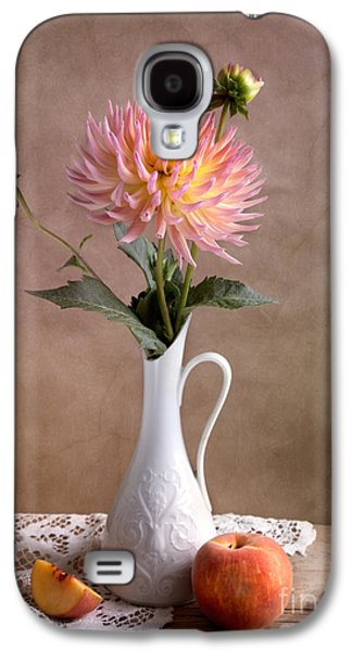 Concept Photographs Galaxy S4 Cases - Still Life with Dahila Galaxy S4 Case by Nailia Schwarz