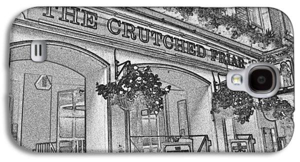 Crutch Galaxy S4 Cases - The Crutched Friar Public House Galaxy S4 Case by David Pyatt