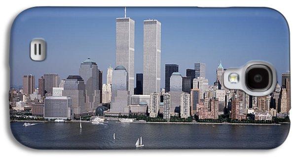 Trade Galaxy S4 Cases - World Trade Center Galaxy S4 Case by Carol M Highsmith