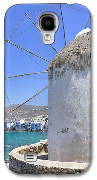 Fishing Village Galaxy S4 Cases - Mykonos Galaxy S4 Case by Joana Kruse