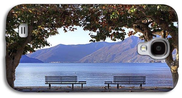 Airplane Photographs Galaxy S4 Cases - Ascona - Lake Maggiore Galaxy S4 Case by Joana Kruse