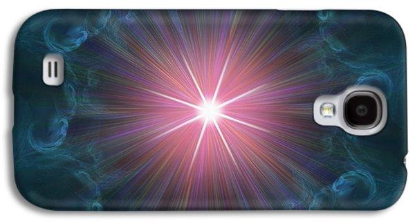 Concept Photographs Galaxy S4 Cases - Big Bang, Conceptual Artwork Galaxy S4 Case by Laguna Design