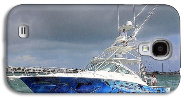 Boat Wrap Galaxy S4 Case by Carey Chen