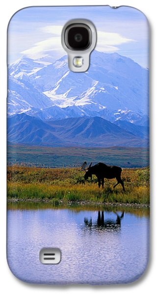 Snow Capped Galaxy S4 Cases - Denali National Park Galaxy S4 Case by John Hyde - Printscapes