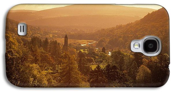 Monasticism Galaxy S4 Cases - Glendalough, Co Wicklow, Ireland Galaxy S4 Case by The Irish Image Collection