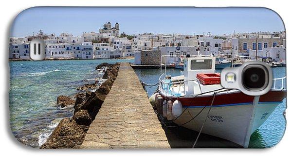 Fishing Village Galaxy S4 Cases - Paros - Cyclades - Greece Galaxy S4 Case by Joana Kruse