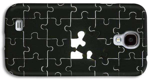 Puzzle Galaxy S4 Case by Joana Kruse