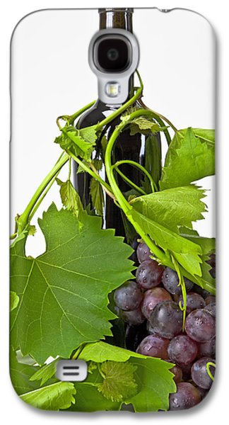 Red Wine Bottle Galaxy S4 Cases - Red wine Galaxy S4 Case by Joana Kruse