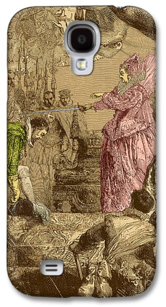 Francis Photographs Galaxy S4 Cases - Sir Francis Drake, English Explorer Galaxy S4 Case by Photo Researchers