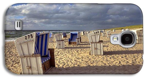 Beach Chair Galaxy S4 Cases - Sylt Galaxy S4 Case by Joana Kruse