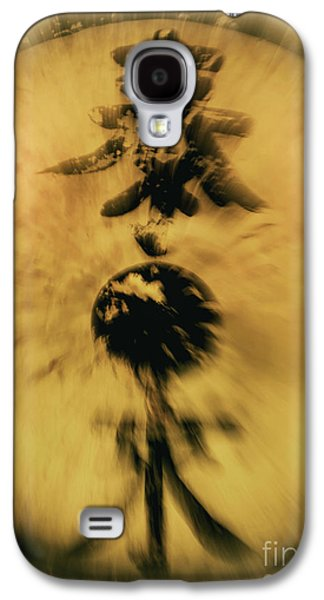 Recently Sold -  - Abstract Digital Galaxy S4 Cases - Untitled Galaxy S4 Case by Glennis Siverson
