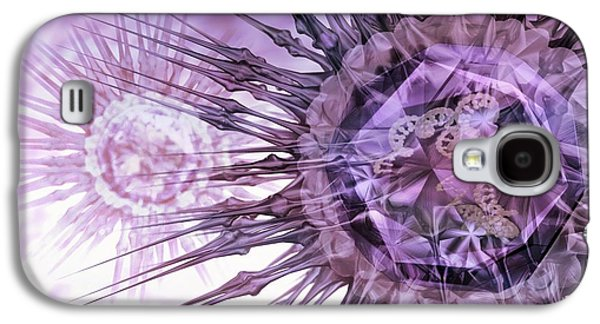 Pathogen Galaxy S4 Cases - Virus Particles, Conceptual Artwork Galaxy S4 Case by Animate4.comscience Photo Libary