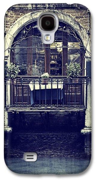 Balcony Galaxy S4 Cases - Venezia Galaxy S4 Case by Joana Kruse