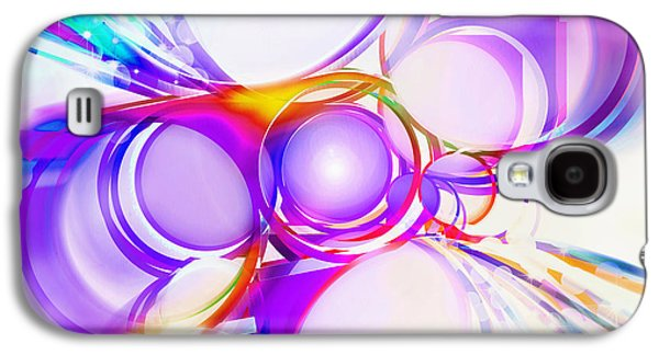 Abstract Of Circle  Galaxy S4 Case by Setsiri Silapasuwanchai