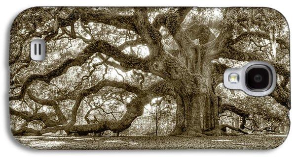 Country Galaxy S4 Cases - Angel Oak Live Oak Tree Galaxy S4 Case by Dustin K Ryan