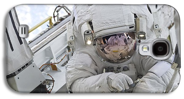 Person Galaxy S4 Cases - Astronaut Participates In A Session Galaxy S4 Case by Stocktrek Images