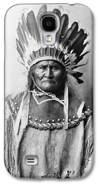 1907 Galaxy S4 Cases - Geronimo (1829-1909) Galaxy S4 Case by Granger