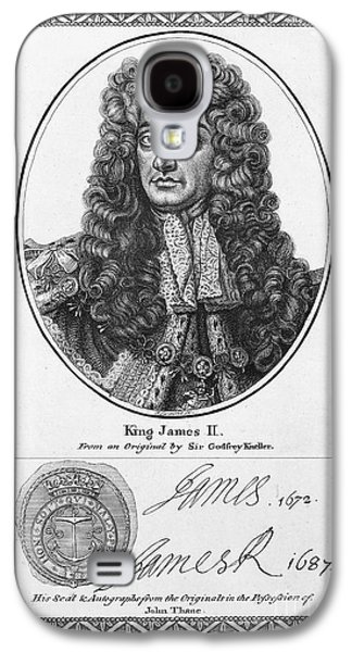 Autographed Galaxy S4 Cases - James Ii (1633-1701) Galaxy S4 Case by Granger