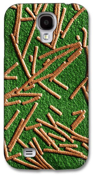 Tem Galaxy S4 Cases - Tobacco Mosaic Virus, Tem Galaxy S4 Case by Omikron