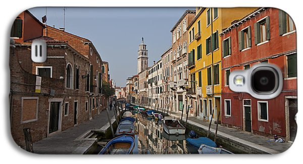 Architecture Photographs Galaxy S4 Cases - Venice - Italy Galaxy S4 Case by Joana Kruse