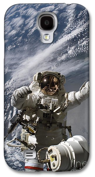 Replacing Galaxy S4 Cases - Astronaut Participates Galaxy S4 Case by Stocktrek Images