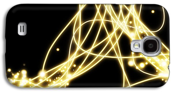Abstract Movement Galaxy S4 Cases - Abstract Lighting Effect  Galaxy S4 Case by Setsiri Silapasuwanchai