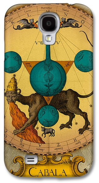 Seventeenth Century Galaxy S4 Cases - Alchemy Illustration Galaxy S4 Case by Science Source