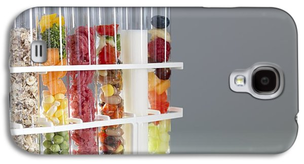Component Photographs Galaxy S4 Cases - Balanced Diet Galaxy S4 Case by Tek Image