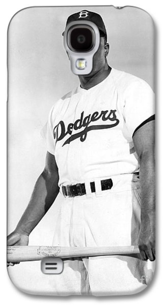 Granger - Galaxy S4 Cases - Jackie Robinson (1919-1972) Galaxy S4 Case by Granger