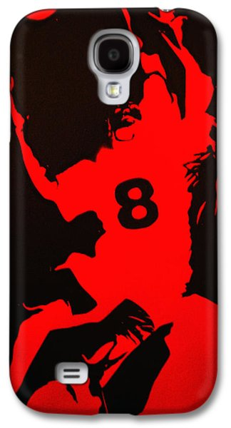 Rugby Paintings Galaxy S4 Cases - 8man Galaxy S4 Case by Michael Ringwalt