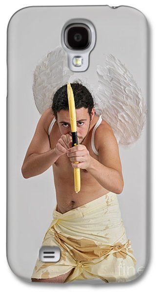 Freedom Party Galaxy S4 Cases - Cupid the god of desire Galaxy S4 Case by Ilan Rosen