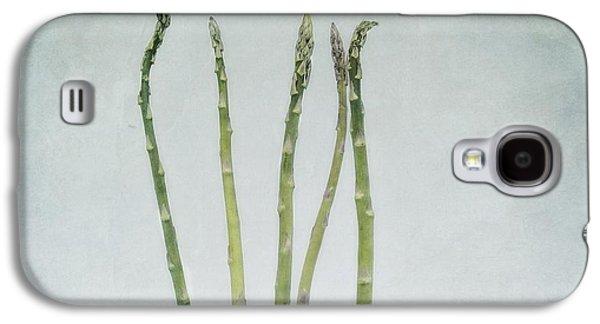 A Bunch Of Asparagus Galaxy S4 Case by Priska Wettstein