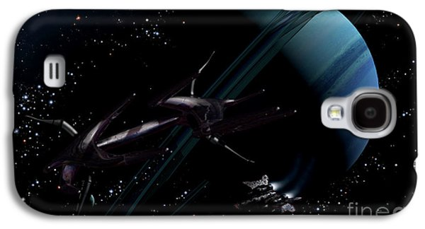 Intergalactic Space Galaxy S4 Cases - A Chartered Private Corvette Galaxy S4 Case by Brian Christensen
