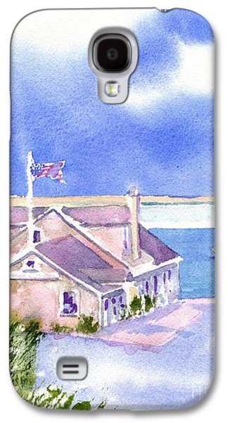 Chatham Paintings Galaxy S4 Cases - A Chatham Fish Market Galaxy S4 Case by Joseph Gallant