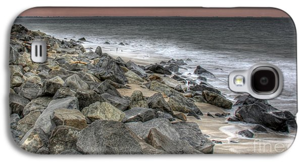 A Hot Summer Day Galaxy S4 Cases - A Cold Day on a December Beach Galaxy S4 Case by Lee Dos Santos