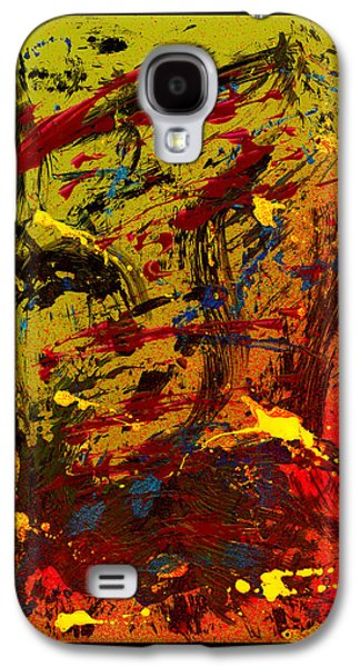 Swiss Mixed Media Galaxy S4 Cases - A cook and his soup Galaxy S4 Case by Manuel Sueess