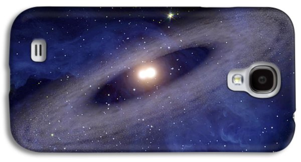 Animation Galaxy S4 Cases - A Faraway Solar System Where Planets Galaxy S4 Case by Stocktrek Images
