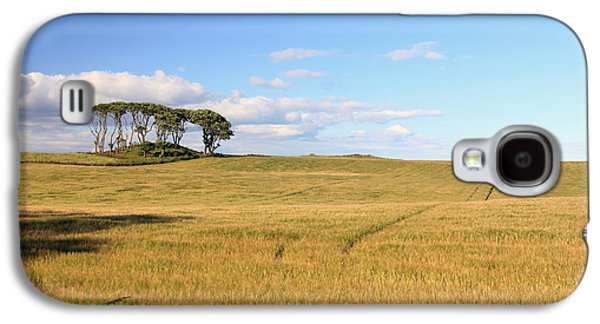 Landscapes Photographs Galaxy S4 Cases - A Farmers Land Galaxy S4 Case by Maria Gaellman