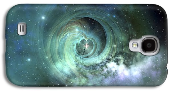 Wavy Galaxy S4 Cases - A Gorgeous Nebula In Outer Space Galaxy S4 Case by Corey Ford