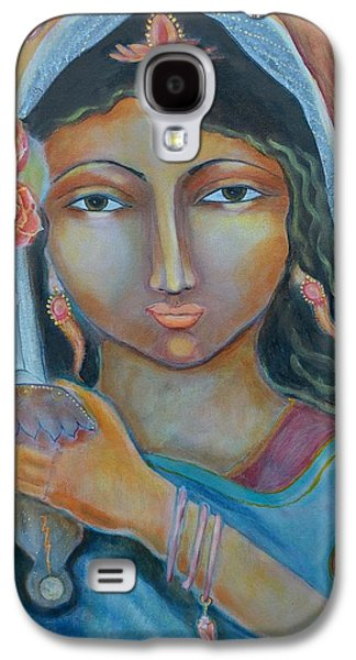 Goddess Durga Galaxy S4 Cases - A Little Drop of Durga Galaxy S4 Case by Kate Langlois