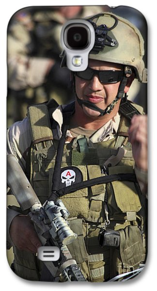 Fort Pierce Galaxy S4 Cases - A Military Reserve Navy Seal Gives Galaxy S4 Case by Michael Wood