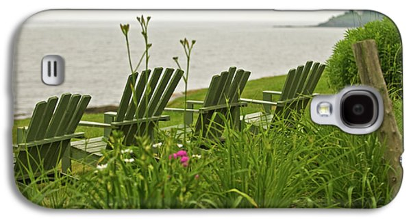 Mid-coast Maine Galaxy S4 Cases - A Place to Relax Galaxy S4 Case by Paul Mangold