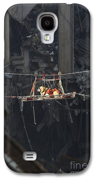 Terrorist Galaxy S4 Cases - A Rescue Dog Is Transported Galaxy S4 Case by Stocktrek Images