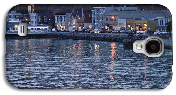 Sausalito Galaxy S4 Cases - A scenery of Sausalito at dusk Galaxy S4 Case by Hiroko Sakai