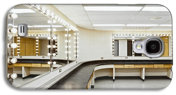 Backstage Photographs Galaxy S4 Cases - A Theater Dressing Room Galaxy S4 Case by Greg Stechishin