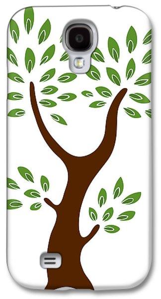 A Tree Galaxy S4 Case by Frank Tschakert