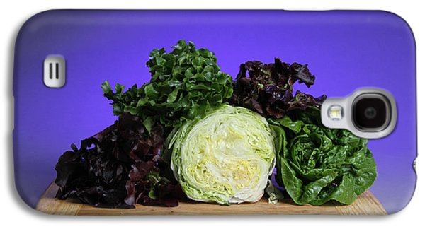 Romaine Galaxy S4 Cases - A Variety Of Lettuce Galaxy S4 Case by Photo Researchers, Inc.