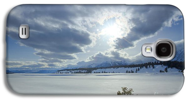 Trees In Snow Galaxy S4 Cases - A Winter Sky Galaxy S4 Case by Idaho Scenic Images Linda Lantzy
